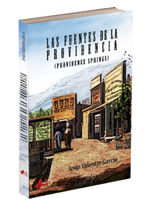 Portada del libro Las fuentes de la providencia de Jesúan Valentín García. Editorial Adarve, Editoriales de España