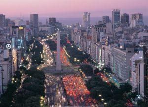 Panorámica de Buenos Aires Argentina. Editorial Adarve, Editoriales de España