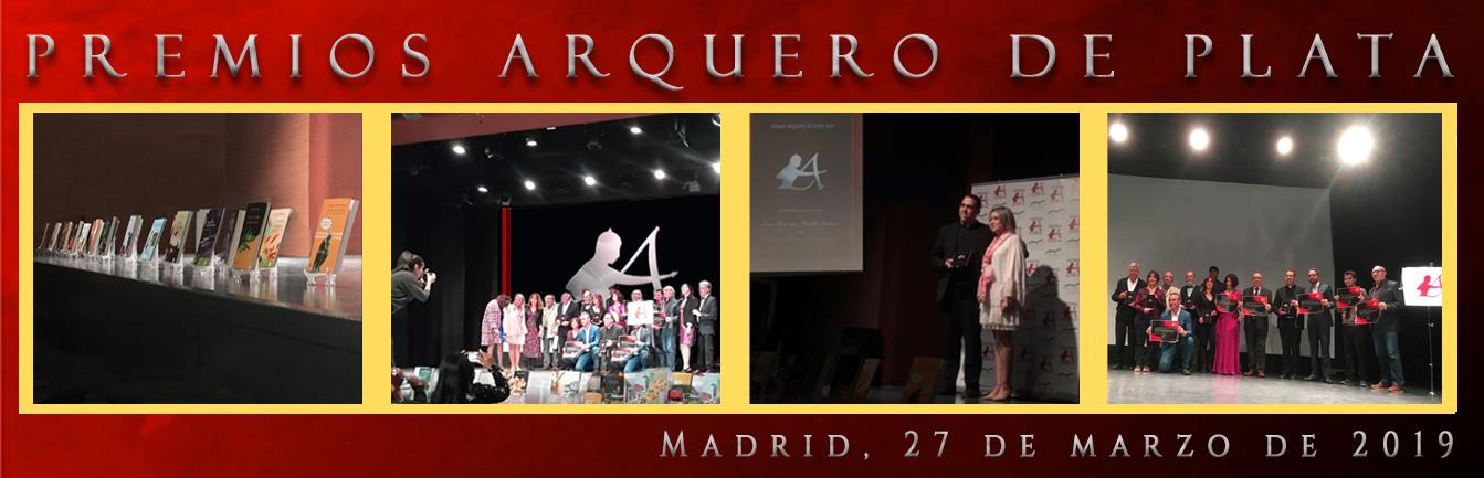 ceremonia de entrega de los premios editoriales Arquero de Plata 2019