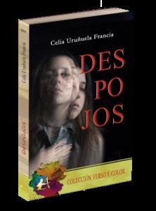 Portada del libro Despojos de Celia Uruñuela. Editorial Adarve, Editoriales de España