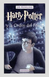 Portada del libro Harry Potter y la orden del fénix. Editorial Adarve, Editoriales de España