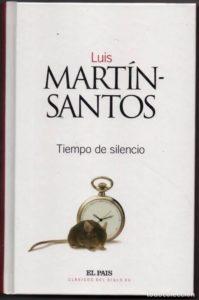 Portada del libro Tiempo de silencio de Luis Martin Santos. Editorial Adarve, Editoriales que aceptan manuscritos