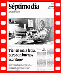 Artículo en diario El Día Ruben Laguens Las dos muertes de Evaristo López. Editorial Adarve, Editoriales de España
