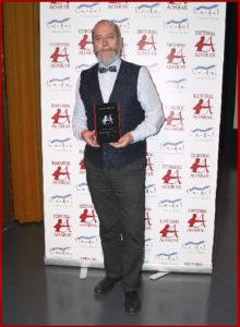 Jesús Almenar recibe el Premio Arquero de Plata 2019