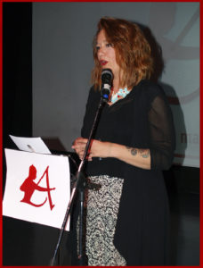 Leticia García presentó la gala de los Premios Arquero de Plata 2019