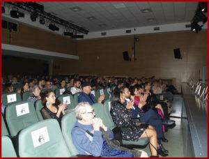 Vista del salón de actos durante la entrega de los Premios Arquero de Plata 2019