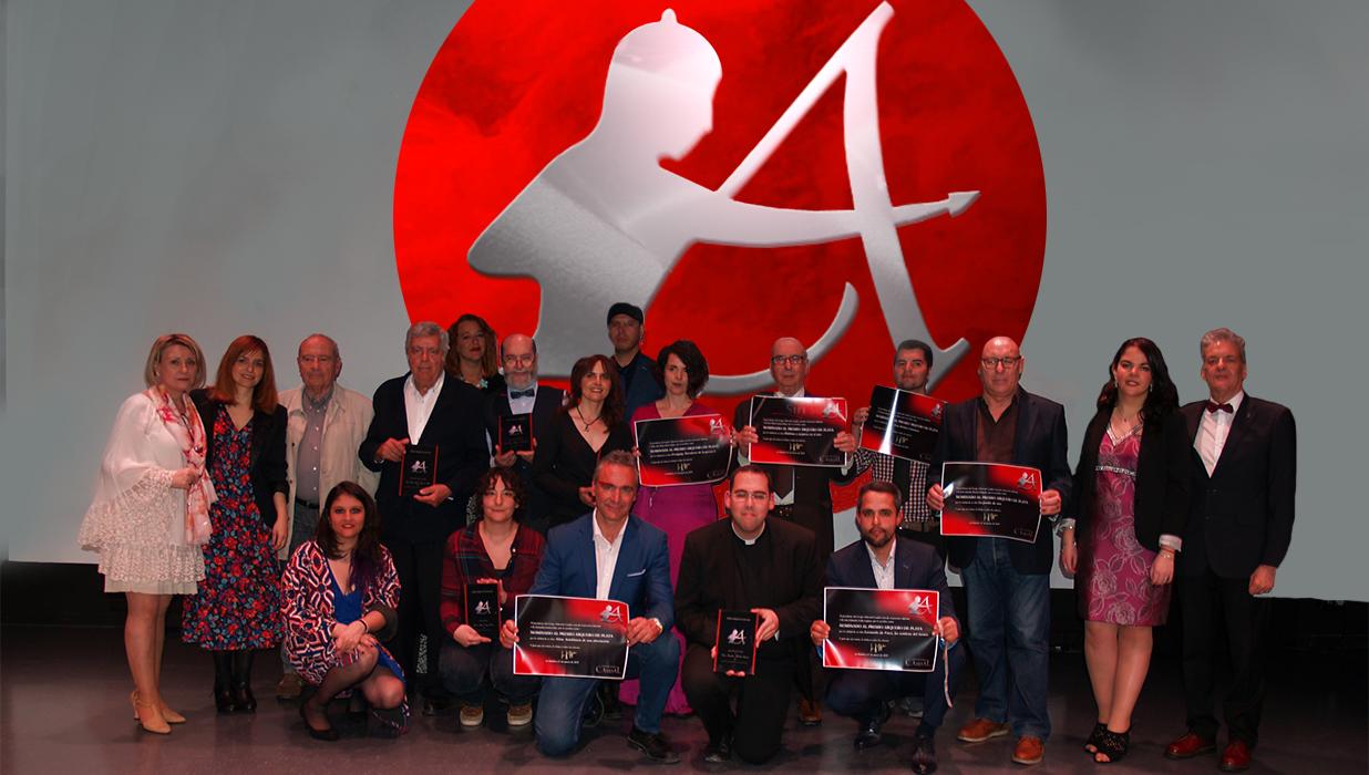 Foto ganadores y nominados Premio Arquero de Plata 2019