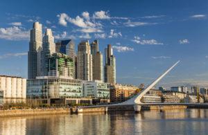 Vista de Puerto Madero Buenos Aires. Editorial Adarve, Editoriales españolas