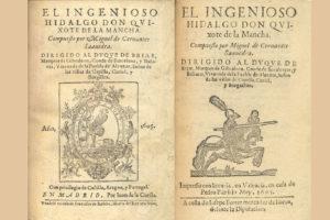 primera edición del Quijote de la Mancha. Editorial Adarve, Editoriales españolas