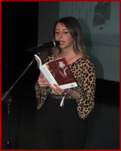 Sofía Morante. Premio Arquero Editorial Adarve
