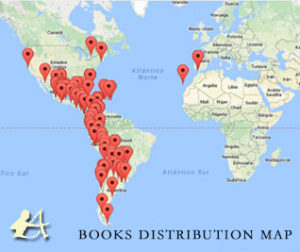 publish a book in spain. Distribution map