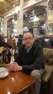 Fotografía del escritor Carlos Javier Garcia Moreno. Editorial Adarve, Editoriales de España