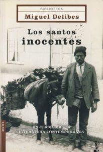 Portada del libro Los santos inocentes de Miguel Delibes. Editorial adarve, Editoriales de España