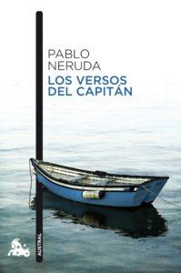 Portada del libro Los versos de capitan de Pablo Neruda. Editorial Adarve, Editoriales actuales de España