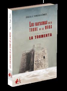 Portada del libro El fantasma de la torre de la mora de Ángel C Vargas. Editorial Adarve, Editoriales de España