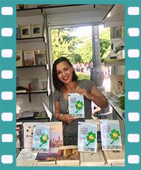 Soraya Sala en la Feria del libro de Madrid. Editorial Adarve, Editoriales que aceptan manuscritos