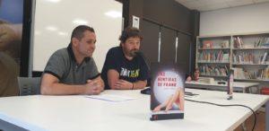 Presentación de Las mentiras de Frank de Jordi Yáñez. Editorial Adarve, Editoriales que aceptan manuscritos