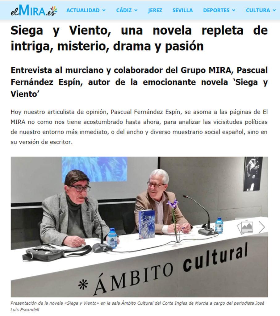Pascual Fernández Espín en elmiraes. Editorial Adarve, Editoriales de España
