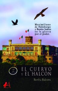 Portada del libro El cuervo y el halcón de Bertha Balestra. Editorial Adarve, Editoriales actuales de España