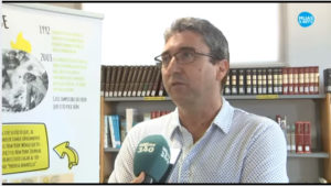 Ángel C Vargas en Mijas TV. Editorial Adarve, Editoriales actuales de España