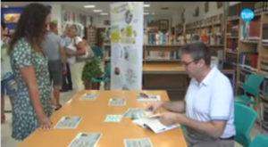 Ángel C Vargas firma Los Fantasmas de la torre de la mora. Editorial adarve, Editoriales que aceptan manuscritos