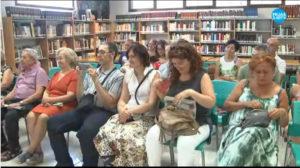 Público en la presentación del libro Los fantasmas de la torre de la mora de Ángel C Vargas. Editorial Adarve, Editoriales que aceptan manuscritos