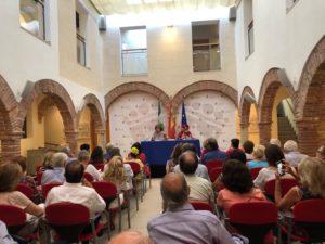 Presentación Exiliada para siempre en Marbella. Editorial Adarve, Editoriales actuales de España