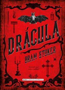 Portada del libro Drácula de Bram Stoker. Editorial Adarve, Editoriales españolas actuales