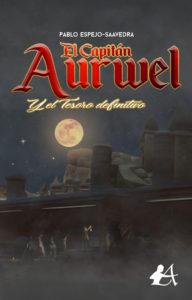 Portada del libro El capitán Aurwel. Editorial Adarve, Editoriales de España