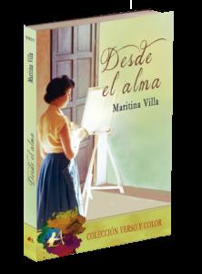 Portada del libro Desde el alma de Maritina Villa. Editorial Adarve, Editoriales que aceptan manuscritos