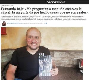 Fernando Raja es entrevistado en Nació Berdegá. Editorial Adarve, Editoriales de España