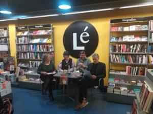 Presentación Moisés González en libreríaLé. Editorial Adarve, Editorial de España