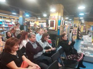 Público presente en la presentación. Editorial Adarve, Editoriales de España