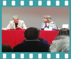 Bertha Balestra presenta en Casa de México. Editorial adarve, Editoriales de España