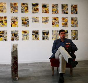 Pablo Espejo-Saavedra durante una presentación. Editorial Adarve, Editoriales de España