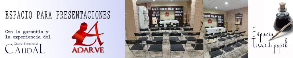 espacio para presentaciones de libros