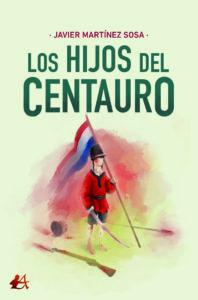 Portada del libro Los hijos del centauro. Editorial Adarve, Editoriales de España