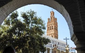 Torre de la iglesia de Llerena. Editorial Adarve