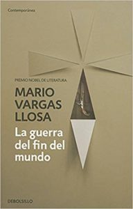 Portada de La guerra del fin del mundo de Vargas Llosa
