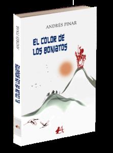 Portada del libro El color de los boniatos de Andrés Pinar. Editorial Adarve, Editoriales que aceptan manuscritos