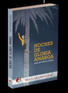 Noches de gloria amarga de José Antonio Llamas. Editorial Adarve, Editoriales de España