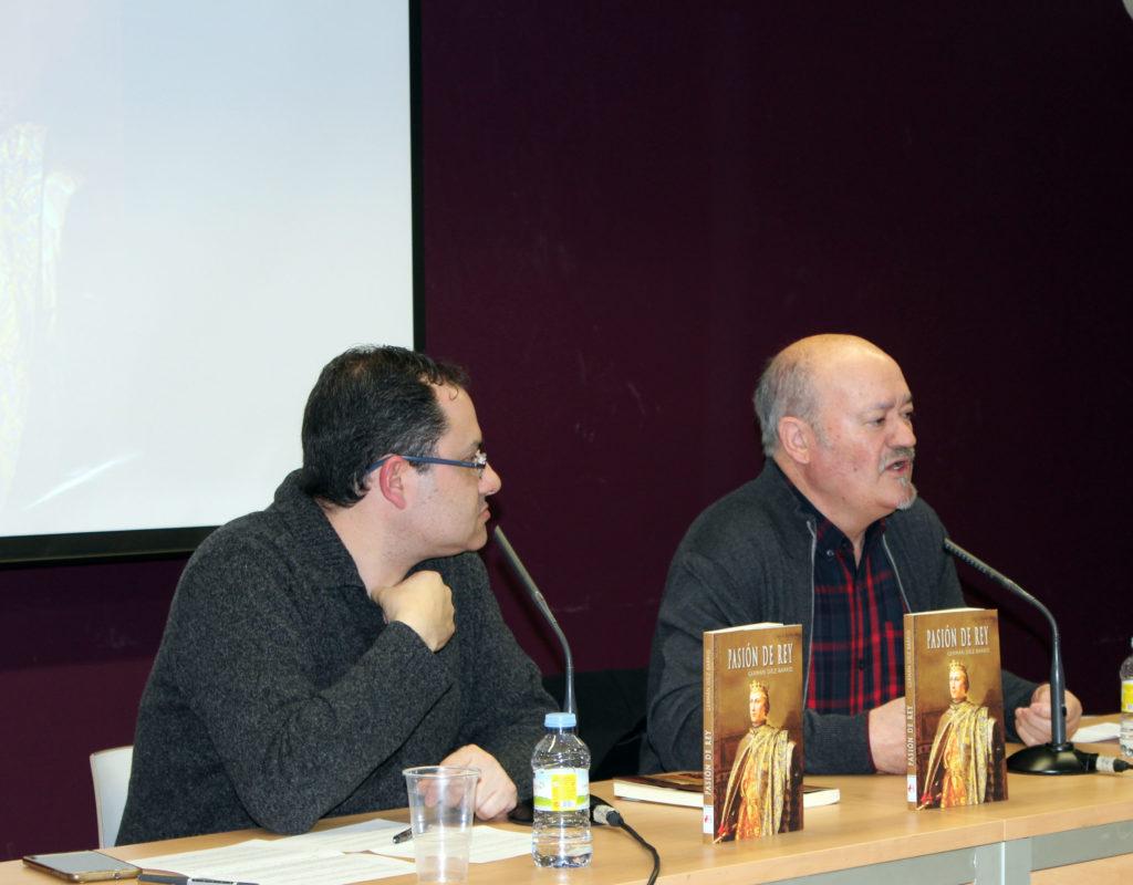 David Acebes Sampedro junto a Germán Díez. Editorial Adarve, Editoriales de España