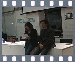 Rafael Romero Rico presenta Reverso. Editorial Adarve, Editoriales de España