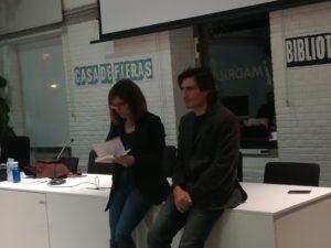 Presentación Rafaerl Romero Rico Reverso. Editorial Adarve, Editoriales de España