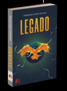Portada del libro Legado de Fernando López Góchez. Editorial Adarve, Editoriales de España