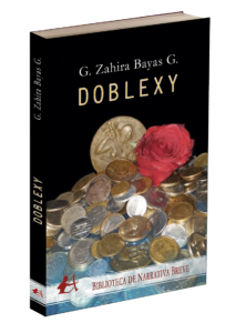 Portada del libro Doblezy de G Zahira Baya G. Editorial Adarve, Publicar un libro