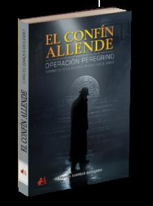 Portada del libro El confín allende de Carlos J Ejarque Escudero. Editorial Adarve, Editoriales de España