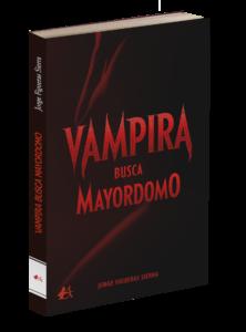 Portada del libro Vampira busca mayordomo de Jorge Figueras Sierra. Editorial Adarve, Editoriales de España