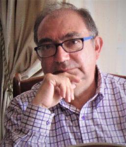Eduardo Piqué autor del libro Madrid telón de fondo. Editorial Adarve, Editoriales de España