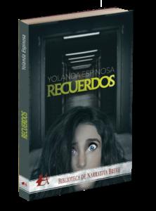 Portada del libro Recuerdos de Yolanda Espinosa. Editorial Adarve, Editoriales de España